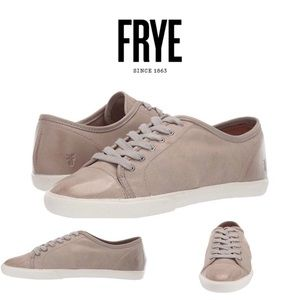 NEW Frye Mindy Low leather sneakers